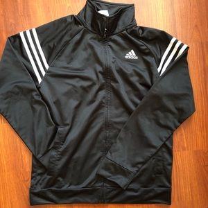 EUC  Adidas Boys Essentials Track Jacket L 14/16